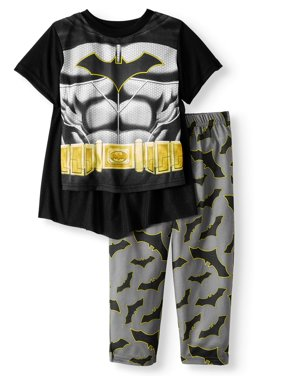 Batman Short Sleeve Costume Play Pajamas, 2-piece Set (Toddler Boys)