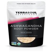 Terrasoul Superfoods Organic Ashwagandha Powder, 1.0 Lb