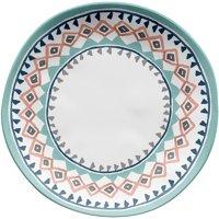 Better Homes & Gardens Multi Geo Design Melamine Salad Plate, 4-Pack