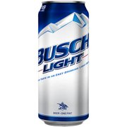 Busch Light Beer, 16 fl oz