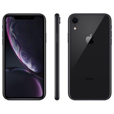 Straight Talk Apple Iphone Xr W 64gb Prepaid Smartphone Black