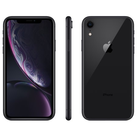 Straight Talk Apple iPhone XR w/64GB Prepaid Smartphone,