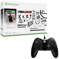 Xbox One S 1TB NBA 2K19 Console and BONUS Controller