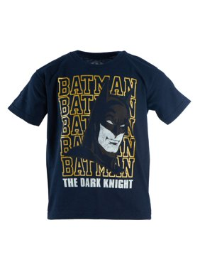 "DC Comics Batman ""The Dark Knight"" Boys Short Sleeve Graphic Tee (Little Boys & Big Boys)"