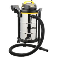 Stanley, SL18130, 5 gallon, 4HP Stainless Steel Wet/Dry Vac 11 pc Box