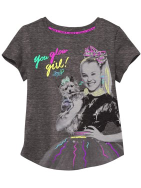 JoJo and Bow Bow Studded Graphic T-Shirt (Little Girls & Big Girls)