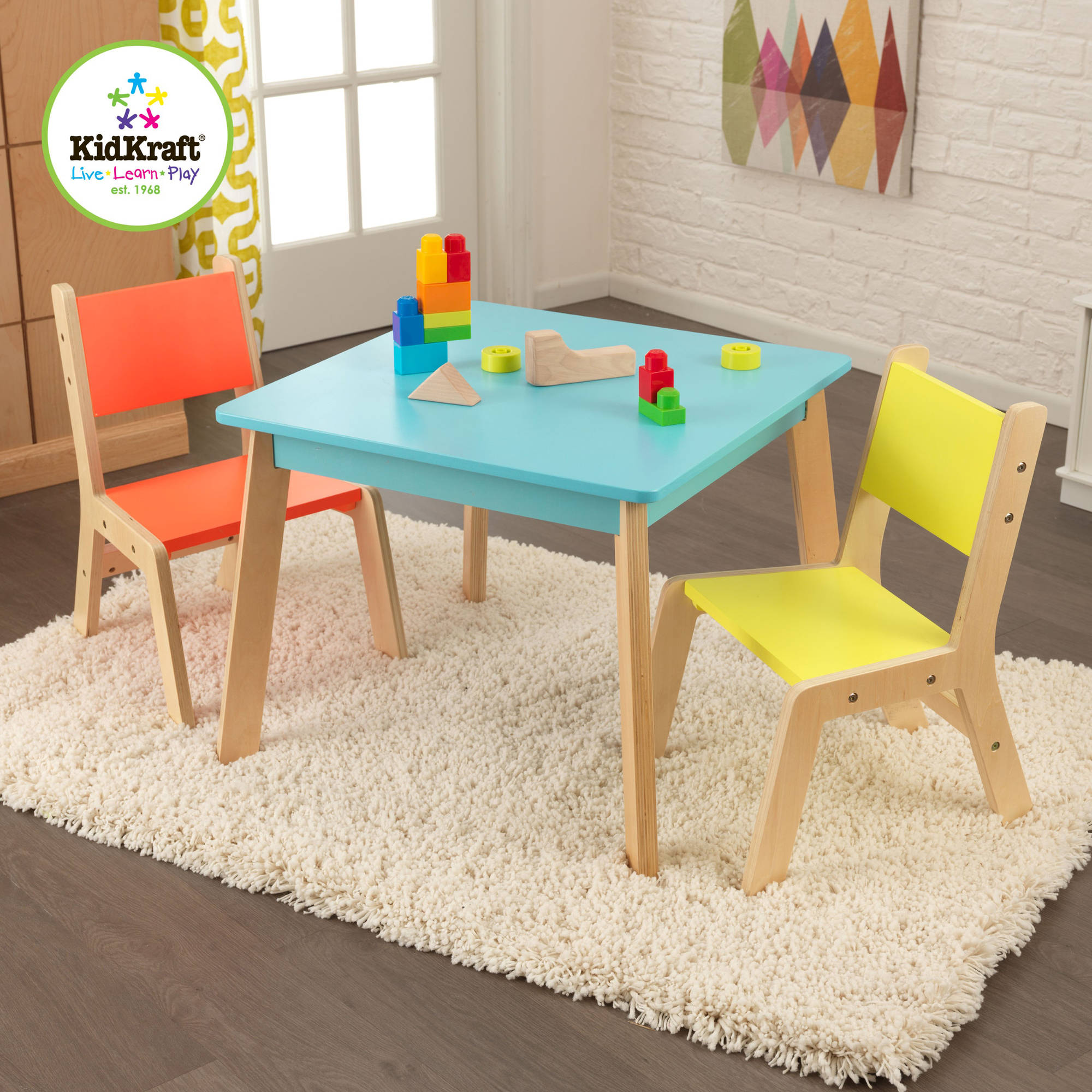 Kids 39 table chair sets for Small chair for kid