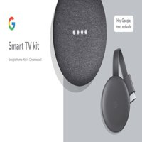 Google Smart TV Kit: Google Home Mini and Chromecast, Walmart Exclusive