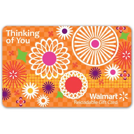 Thinking of You Walmart Gift Card - Gift Card Shower