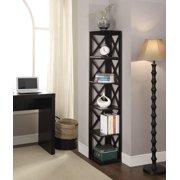 Convenience Concepts Oxford 5-Tier Corner Bookcase