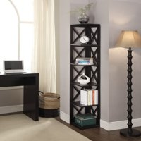 Convenience Concepts Oxford 5-Tier Corner Bookcase