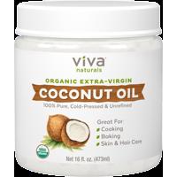 Viva Naturals Organic Extra Virgin Coconut Oil 16 fl oz