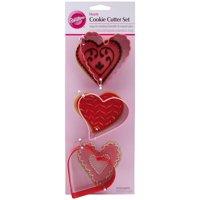 Wilton Metal Cookie Cutter Set, Transportation 3 ct. 2308-0946