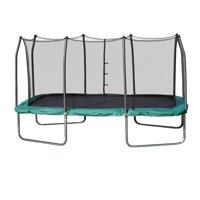 Skywalker Trampolines Rectangle 8 x 14 Foot Trampoline, Green
