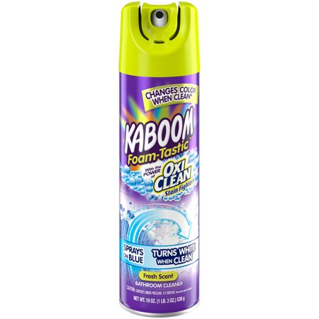 Kaboom Foam Tastic With Oxiclean Fresh Scent Bathroom
