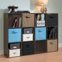 ClosetMaid 12-Cube Organizer, Espresso