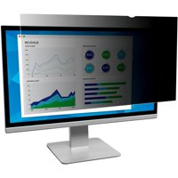 "3M, MMMPF213C3B, Privacy Filter for 21.3"" Standard Monitor (PF213C3B), Black,Matte,Glossy"