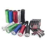 Ozark Trail Aluminum Flashlight 10-Pack
