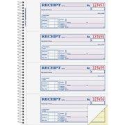 adams wirebound moneyrent receipt books