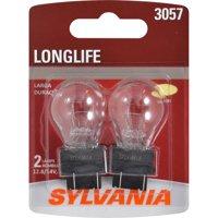 SYLVANIA 3057 Long Life Mini Bulb, Pack of 2