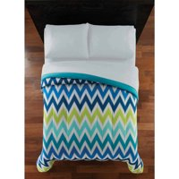 Mainstays Twin Chevron Comforter, 1 Each