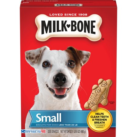 Milk-Bone Original Dog Biscuits - Small, 24-Ounce - Biscuit The Dog Halloween