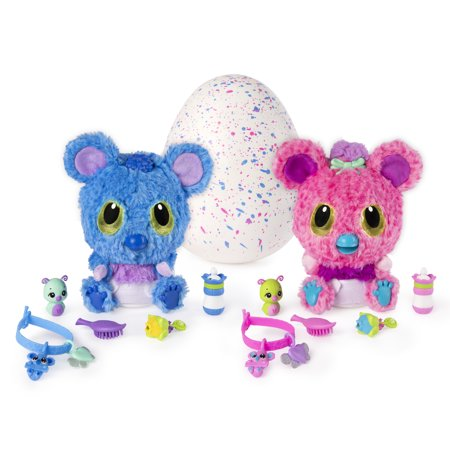 Hatchimals HatchiBabies Koalabee, Hatching Egg with Interactive Toy, Baby Koala Pet, Walmart Exclusive, for Ages 5 and Up