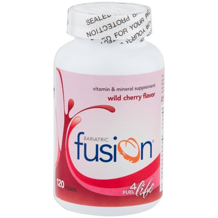 Bariatric Fusion - Complete Chewable Multivitamin and Mineral Supplement - Wild Cherry - 120 -