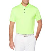 Men's and Big Men's Performance Short Sleeve Solid Polo shirt, up to size 5XL