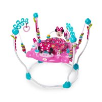 Disney Baby Minnie Mouse Peek-A-Boo Activity Jumper with Lights and Melodies