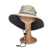 5cd362c00ed748 Men's San Diego Hat Company Wide Brim Outdoor Hat OCM4654 Grey L/XL (L