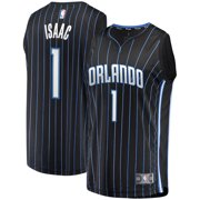 fde05c0da6e Jonathan Isaac Orlando Magic Fanatics Branded Fast Break Replica Player  Jersey - Statement Edition - Black
