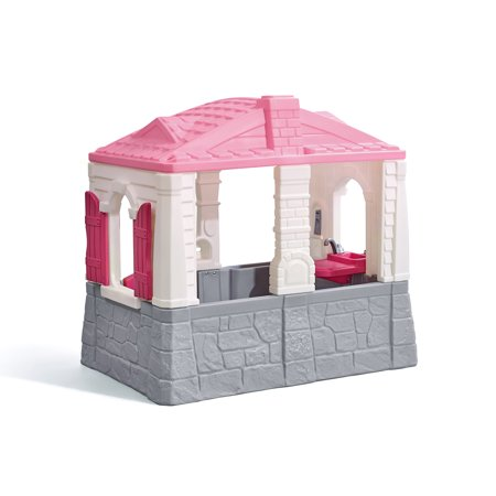 Step2 Neat And Tidy Cottage Playhouse Pink Walmart Com