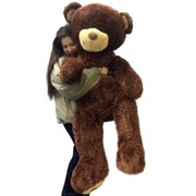 5cf68b05861 Giant 5 Foot Teddy Bear 60 Inch Soft Brown Oversized Big Plush Teddybear