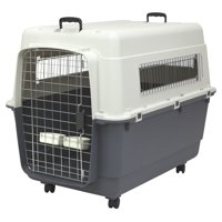 Kennels Direct Premium Plastic Dog Kennel and Travel Crate, XXL