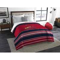 "MLB St. Louis Cardinals ""Stripe Life"" Twin/Full Bedding Comforter"