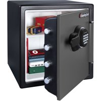 SentrySafe SFW123ES Fireproof Safe and Waterproof Safe with Digital Keypad 1.23 cu ft