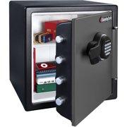 SentrySafe SFW123ES Digital Fire/Water Security Safe, 1.23 cu ft