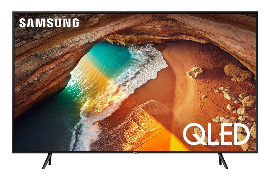 "SAMSUNG 55"" Class 4K Ultra HD (2160P) HDR Smart QLED TV QN55Q60R (2019 Model)"