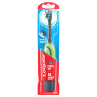 Colgate Total Advanced Floss-Tip Battery Powered Toothbrush, Soft