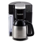 NuWave BruHub Single Serve/Full Pot Smart Coffee Maker Brewer Machine System