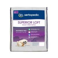 Sertapedic Superior Loft Down Alternative Mattress Pad