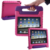 HDE iPad 2 3 4 Case for Kids - Rugged Heavy Duty Drop Proof Children Toy Protective Shockproof Cover Handle Stand for Apple iPad 2 3 4 (Blue)