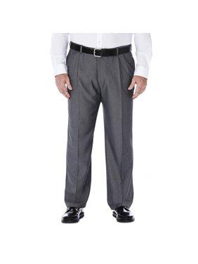 Men's Big & Tall Cool 18® Htr. Solid Pleat Pant Classic Fit 41714276486