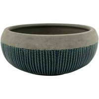 """Better Homes and Gardens 12"""" Planter, Teal"""