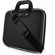 Cady Universal Tablet, eReader, Netbook, Laptop Hard Faux Leather Carrying / Shoulder Suit Case fits 11, 11.6, 12, 12.2 inch