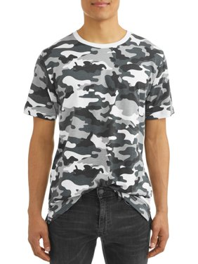 Men's Printed Tee, up to size 3XL