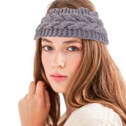 1216a7a8fc9 2 Pack Zodaca Women Headband Crochet Knit Knitted Girl Lady Fashion Head  Warmer Winter Warmth Headband