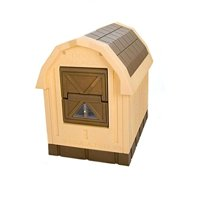 "Dog Palace Insulated Dog House, Large, 47.5""x 31.5""x38.5"""