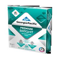 "Georgia-Pacific Premium Bright Paper 8.5""x11"", 24lb/96 BRT, 500 Sheets"